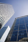 Canary Wharf - Docklands in London Stock Photos