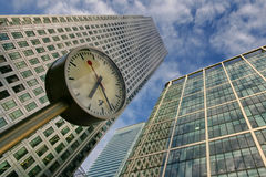 Canary Wharf Financial District Royalty Free Stock Photo