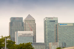 Canary Wharf, financial district of London Royalty Free Stock Image