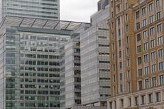 Canary Wharf-Gebouwen Royalty-vrije Stock Foto