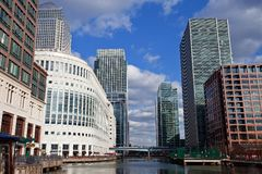 Canary Wharf London Royalty Free Stock Photos