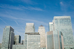Canary Wharf , London Stock Images