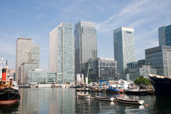 Canary Wharf , London Royalty Free Stock Images