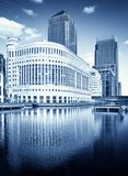 Canary Wharf, London Royalty Free Stock Photos