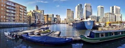 Canary Wharf, London Royalty Free Stock Photo