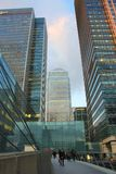 Canary Wharf in London Stock Images
