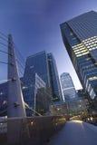 Canary Wharf, London Stock Photos