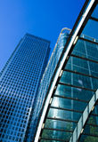 Skyscrapers at Canary Wharf, London Royalty Free Stock Photos