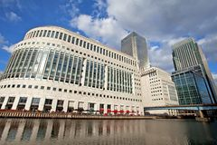 Canary Wharf London England Royalty Free Stock Photography