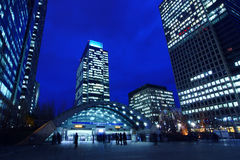 Canary Wharf, London England Stock Images