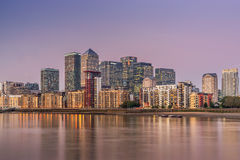 Canary Wharf Royalty Free Stock Images