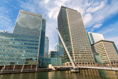 Canary Wharf. London, England Royalty Free Stock Photo