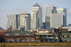 Canary Wharf, London, England, UK, Europe Royalty Free Stock Photography