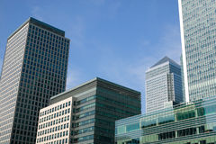 Canary Wharf in London's Docklands Royalty Free Stock Image