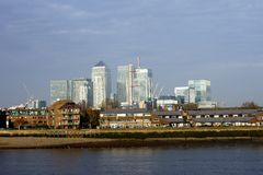 Canary Wharf London Stock Image