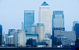 Canary Wharf, London, UK Royalty Free Stock Photos