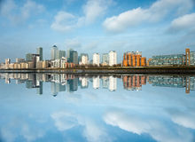 Canary Wharf, London, UK Stock Photography