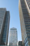 Canary Wharf, London, UK. Office buildings, Canary Wharf, London, UK Royalty Free Stock Images