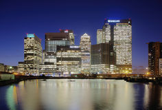 Canary Wharf Stock Photos