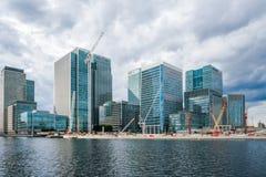 Canary Wharf, London, UK Royalty Free Stock Photography
