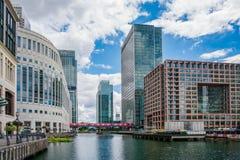 Canary Wharf, London, UK Stock Photography
