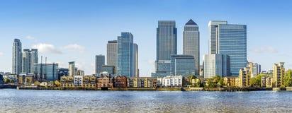 Canary Wharf, London Royalty Free Stock Photography