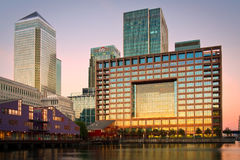 Canary Wharf, London. Stock Photography