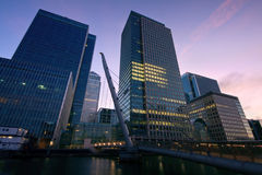 Canary Wharf, London. Stock Images