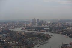 Canary Wharf, Londra Fotografie Stock Libere da Diritti