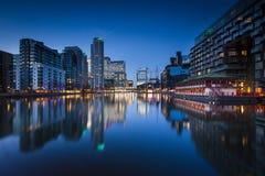 Canary Wharf, Londres Fotografía de archivo