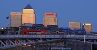 Canary Wharf, Londres Photo stock