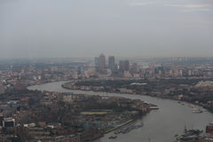 Canary Wharf, Londres Fotos de archivo libres de regalías