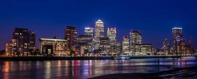 Canary Wharf Londres R-U Photographie stock