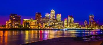 Canary Wharf Londres R-U Image stock