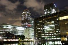 Canary Wharf, Londyn Zdjęcia Royalty Free