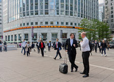 Canary Wharf. Is a major business district in east London Royalty Free Stock Image