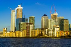 Canary Wharf obraz stock