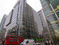Canary Wharf office park Stock Photo