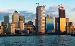 Canary Wharf royalty-vrije stock fotografie