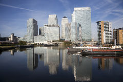 Canary Wharf Skyline -02 Stock Photography