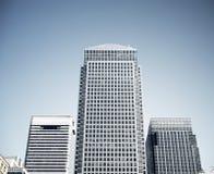 Canary Wharf Stock Image