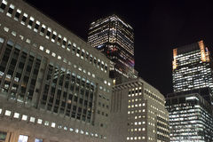 Free Canary Wharf Skyscrapers In London At Night Stock Photo - 11531850