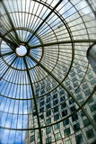 Canary Wharf tower in London Stock Image