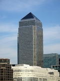 Canary Wharf Tower In London's Docklands Royalty Free Stock Image