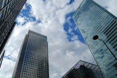 Canary Wharf Towers. Docklands, London Royalty Free Stock Image