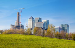 Canary Wharf view, London Stock Photos