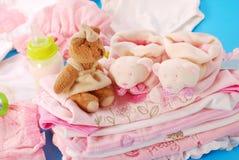Canastilla para el bebé Imagen de archivo libre de regalías