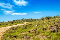 Canastra Brésil de serra de parc national Photographie stock