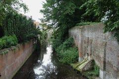 Canaux à Bruges photo libre de droits