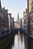 CANAUX D'AMSTERDAM promenade à Amsterdam image libre de droits